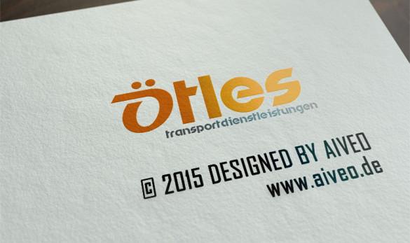 Logo Ötles Transporte © 2015 by AIVEO www.aiveo.de