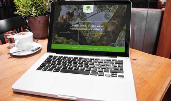 AIVEO - CREATIVE-DESIGN WEBDESIGN # Bahner Baumpflege www.aiveo.de