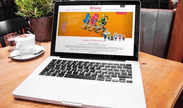 AIVEO - CREATIVE-DESIGN WEBDESIGN # Rehatec www.aiveo.de