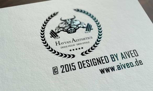 AIVEO Creative Design Logo # Hayvan Aesthetics © 2015 by AIVEO www.aiveo.de