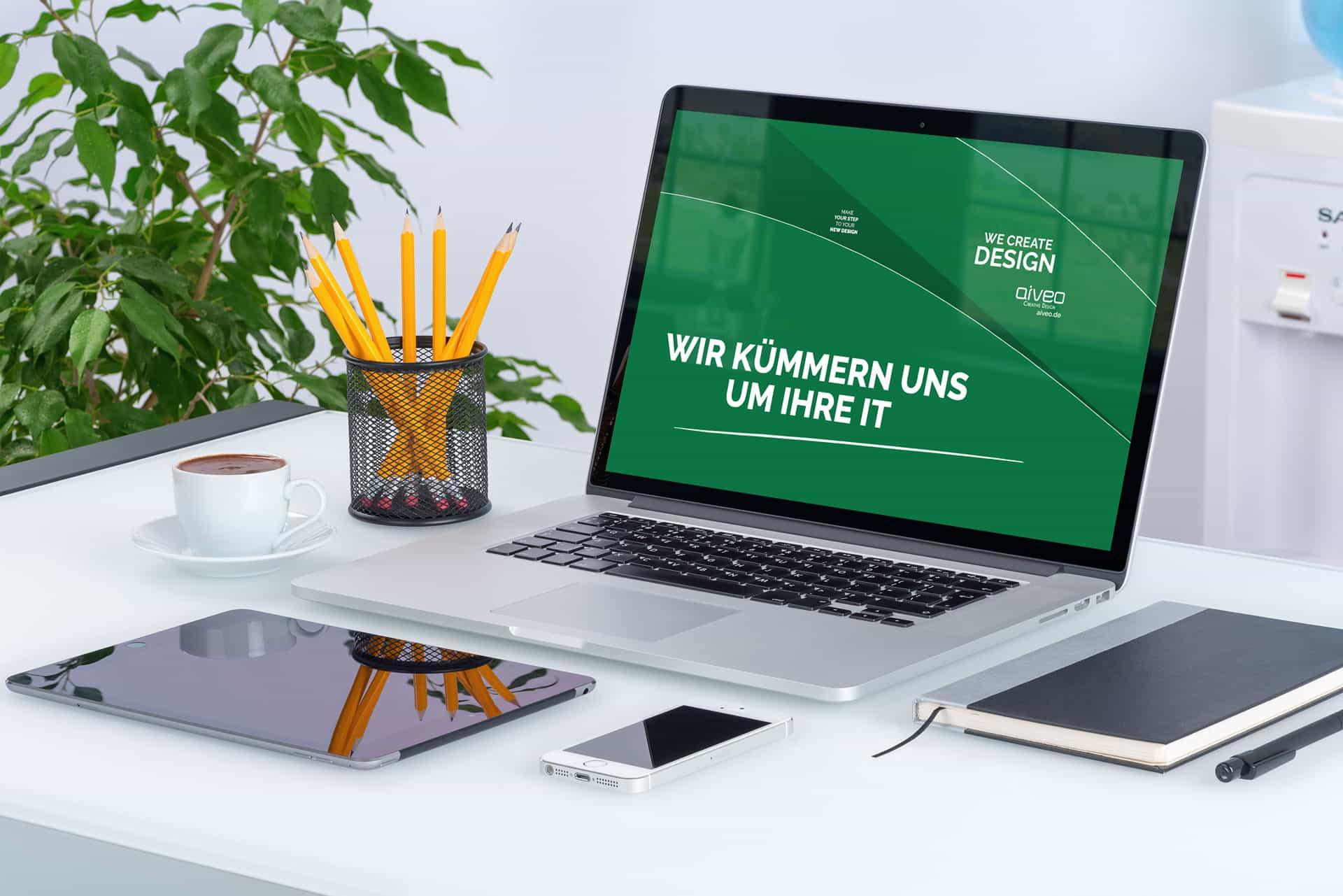IT-Service der Werbeagentur Aiveo IT www.aiveo.de